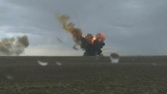 Ракета Протон-М упала на старте