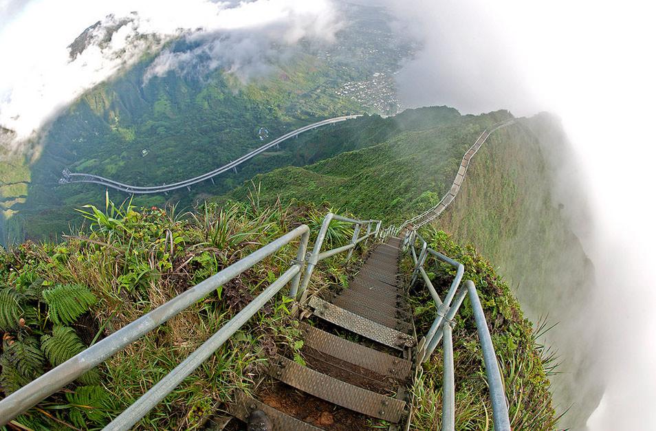 Тропа Хайку. Лучшее место для путешествия с тещей, которая боится высоты