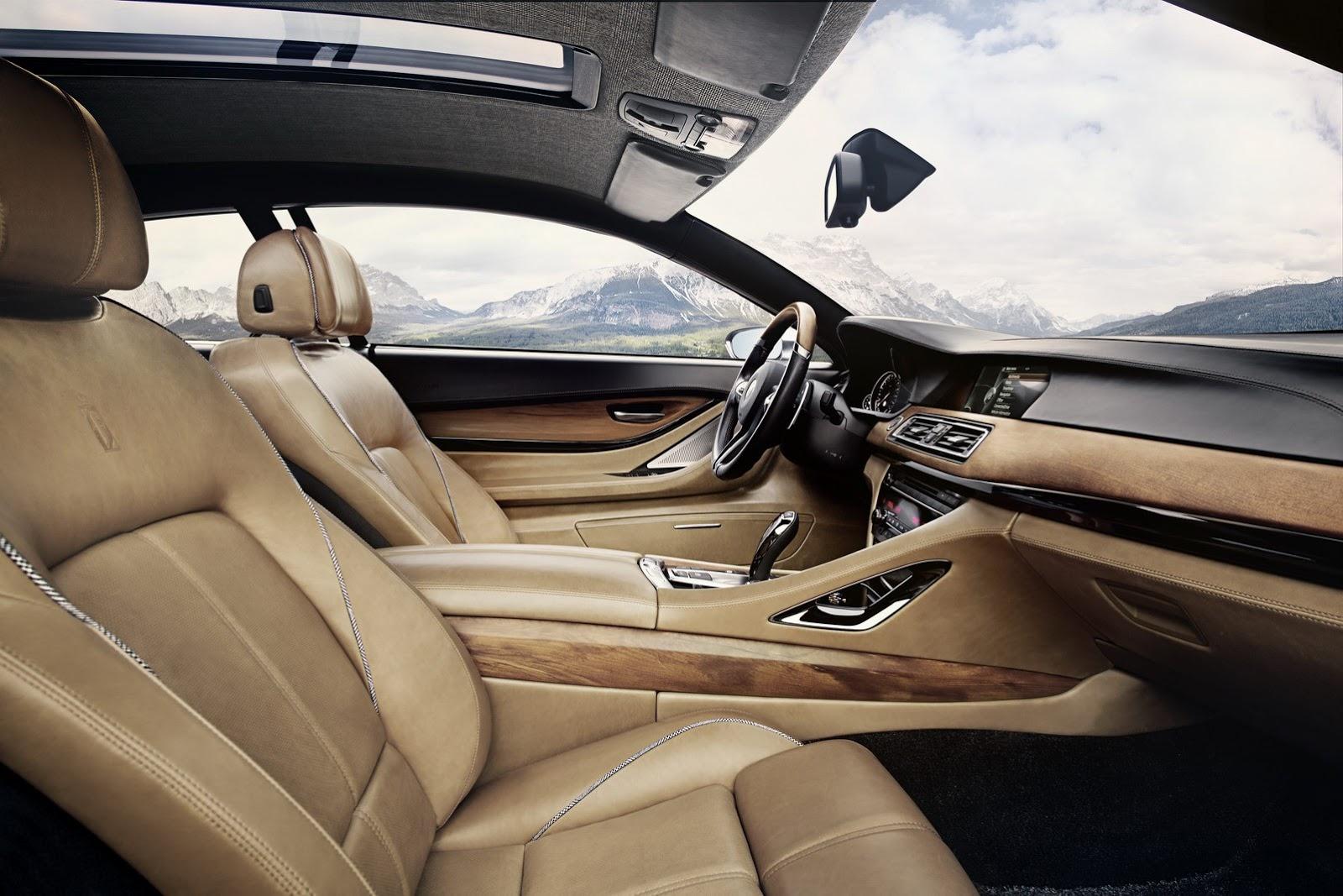 Интерьер Gran Lusso практически ничем не отличается от других BMW