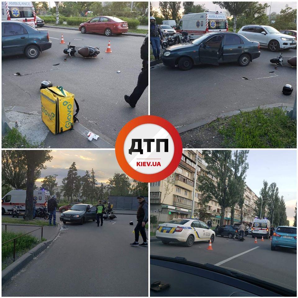 ДТП на дорогах Киевщины: Бензовоз врезался в фуру, а водитель в детскую площадку