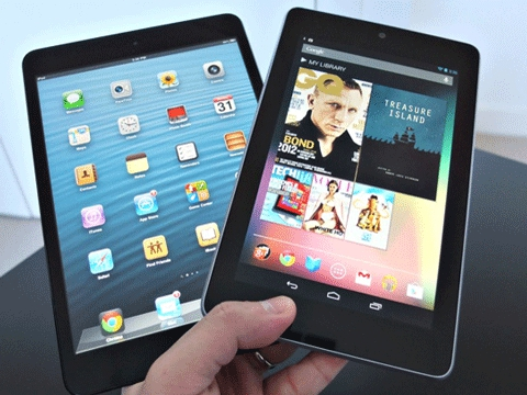 Nexus 7 и iPad Mini