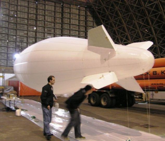 Дирижабль готов к испытаниям