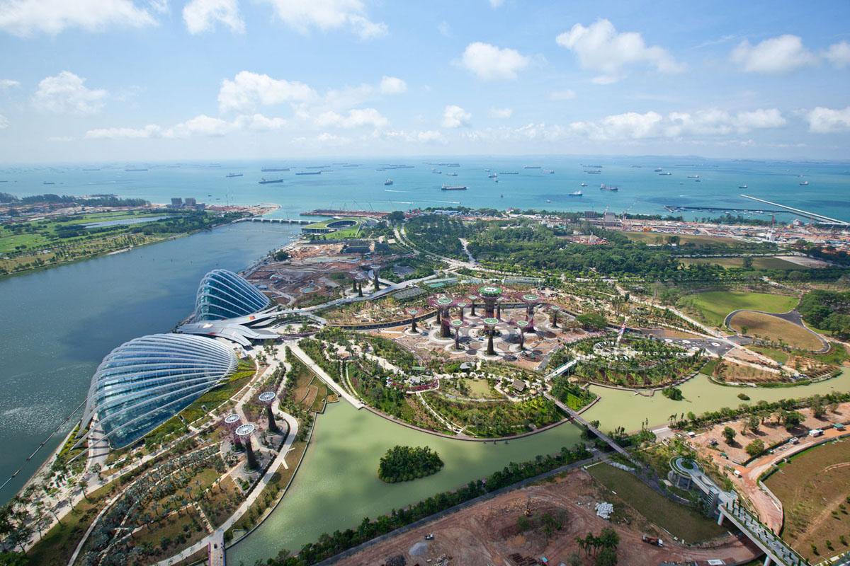 Gardens By The Bay - экзотический город на берегу Джохорского пролива