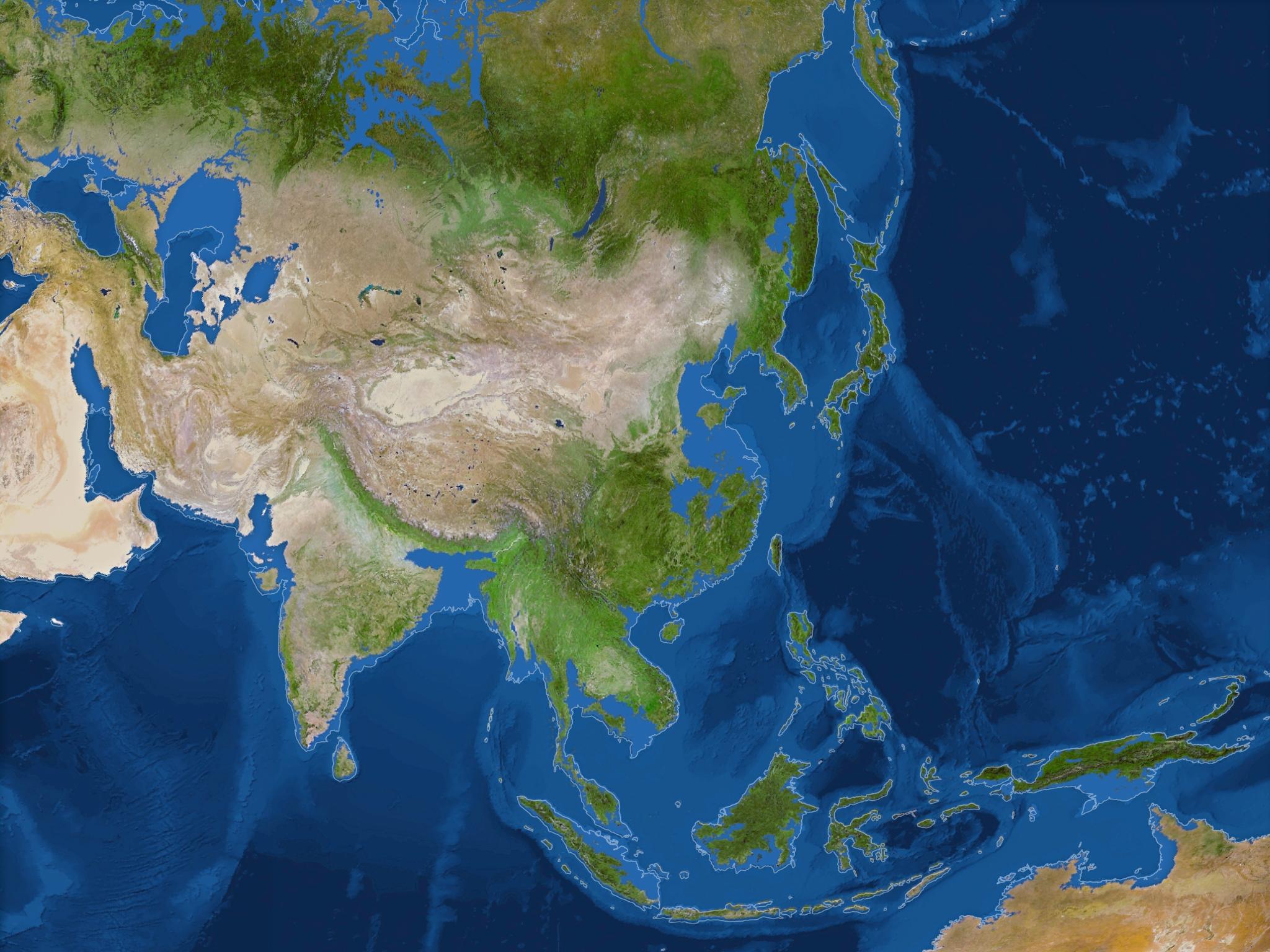 В Азии пострадают Китай и Камбоджа