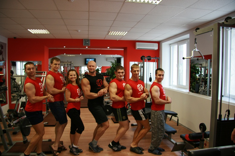 Бицепс, фитнес-клуб, Днепропетровск, ул. Ломаная, 19 - 5 этаж.