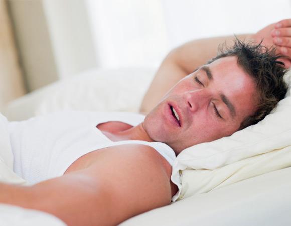 Не спи на спине - можешь захрапеть
