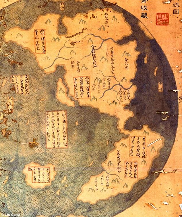 Мензис верит, что эта карта двух Америк сделана в 1418 году