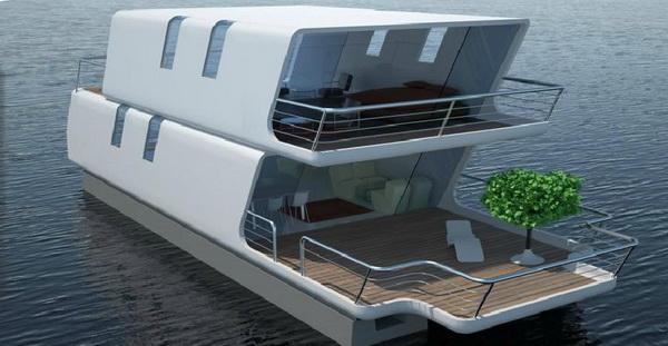 ТubiQ - модульная яхта для жизни на воде