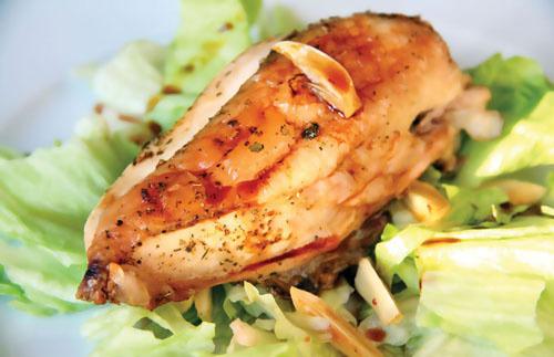 Курица бывает не только диетической, но и алкогольной