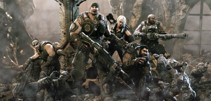 Gears of War - один из экслюзивов Xbox 360