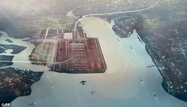 Аэропорт будет стоять на Темзе