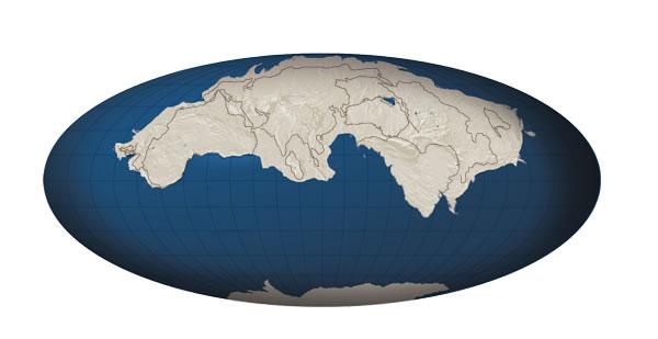 Амазия появится через 250 млн. лет