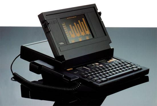 Первый ноутбук Билла Могриджа