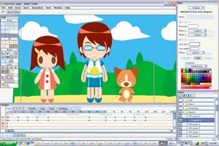 Программа для рисования и анимации