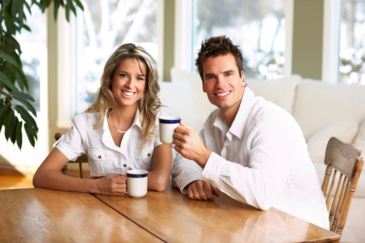 Нет ничего приятнее, чем пить кофе в милом окружении