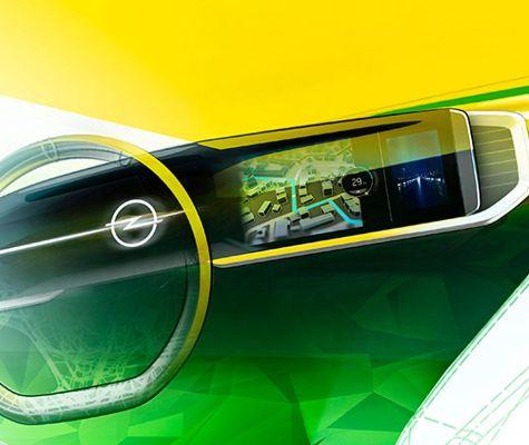 Новый электрокроссовер от Opel показал свое