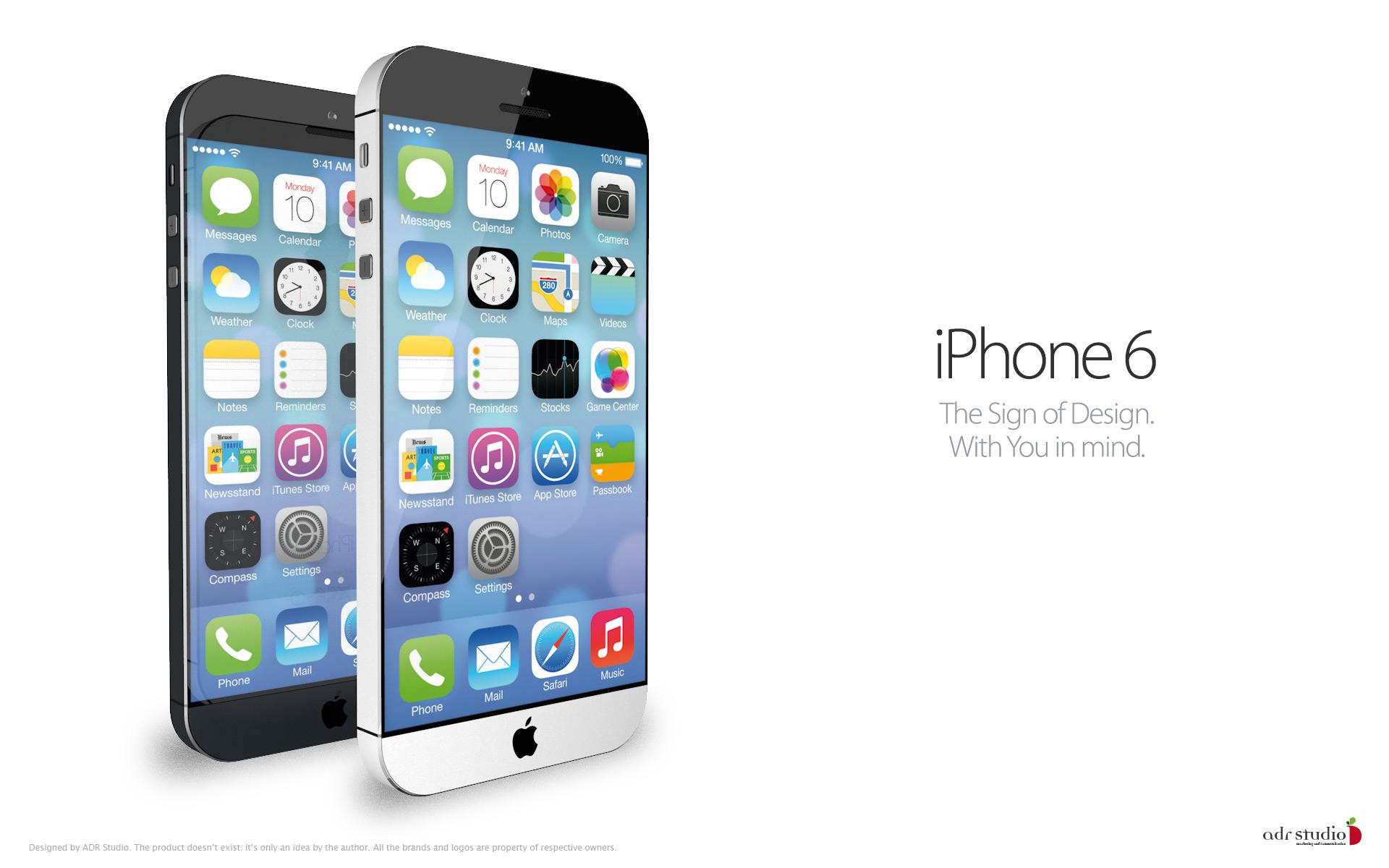 iPhone 6 - концепт будущего смартфона