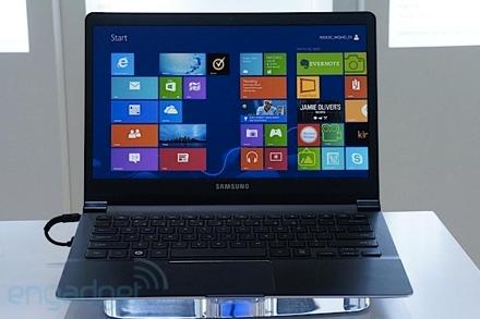 Новый ноутбук Samsung