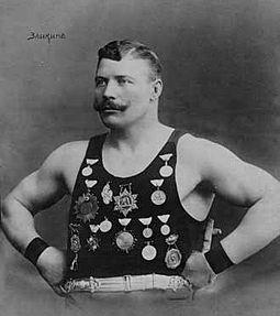 Иван Михайлович Заикин — российский борец, авиатор, артист цирка. Сценическое имя — Капитан воздуха и Король железа