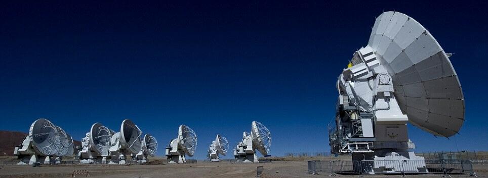 Телескопы ALMA