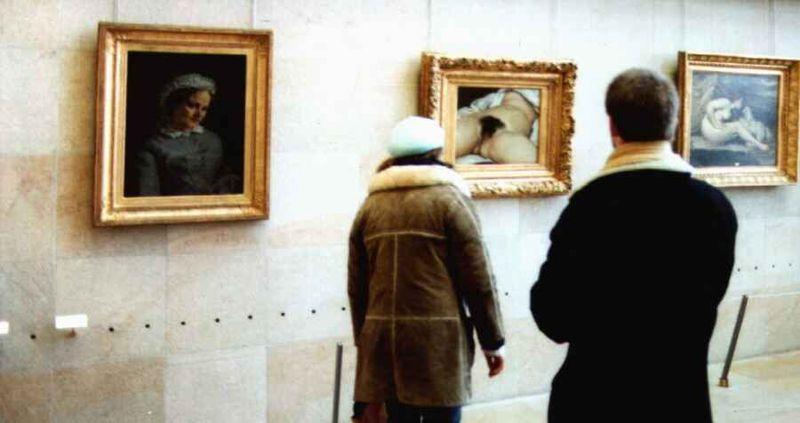 Скандальная картина Гюстава Курбе «Происхождение мира» была также удалена из Facebook