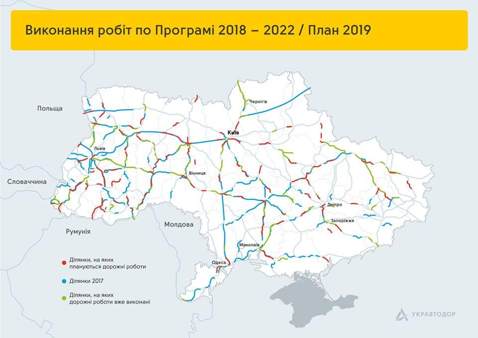 Выполнение работ по Программе 2018-2022 / План 2019