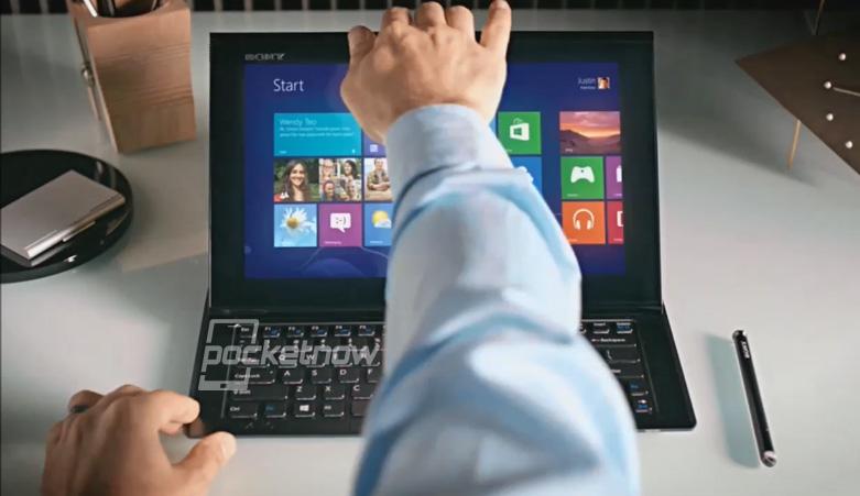 Планшет на Windows 8 превращается в нетбук