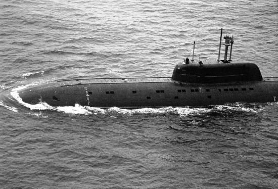 Барракуда - лодка особо глубокого погружения