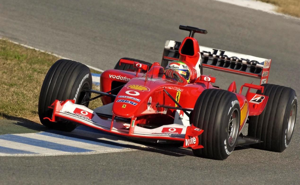 Михаэль Шумахер седьмой раз стал чемпионом мира благодаря Феррари F2004