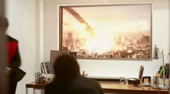 Скрытая камера в рекламе телевизора LG