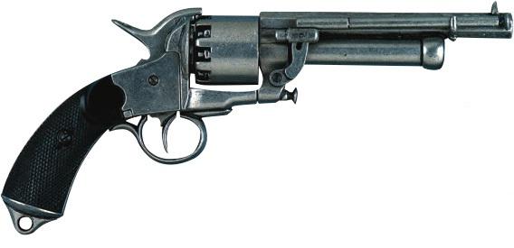 Ле Ма придумал пистолет с дополнительным стволом