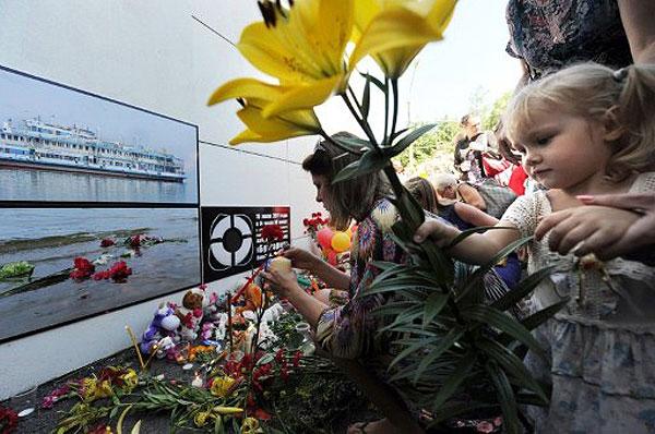 На теплоходе Булгария погибли более 40 детей
