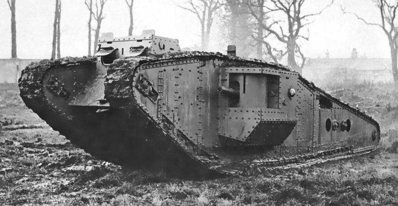 Mark I. Дедушка всех танков