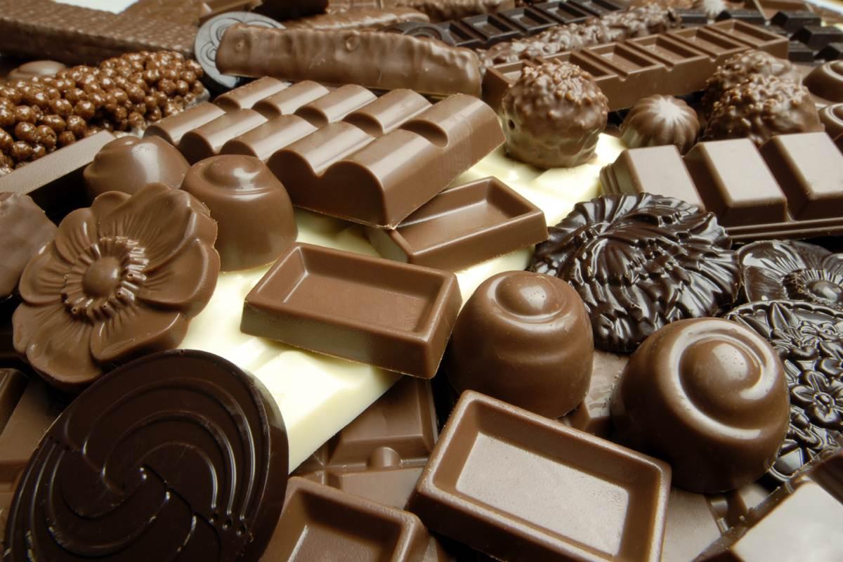 Шоколад - еще один повод сходить в качалку