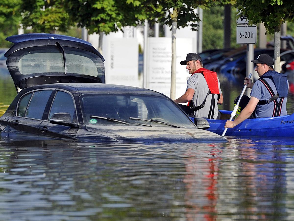 Потоп в Германии