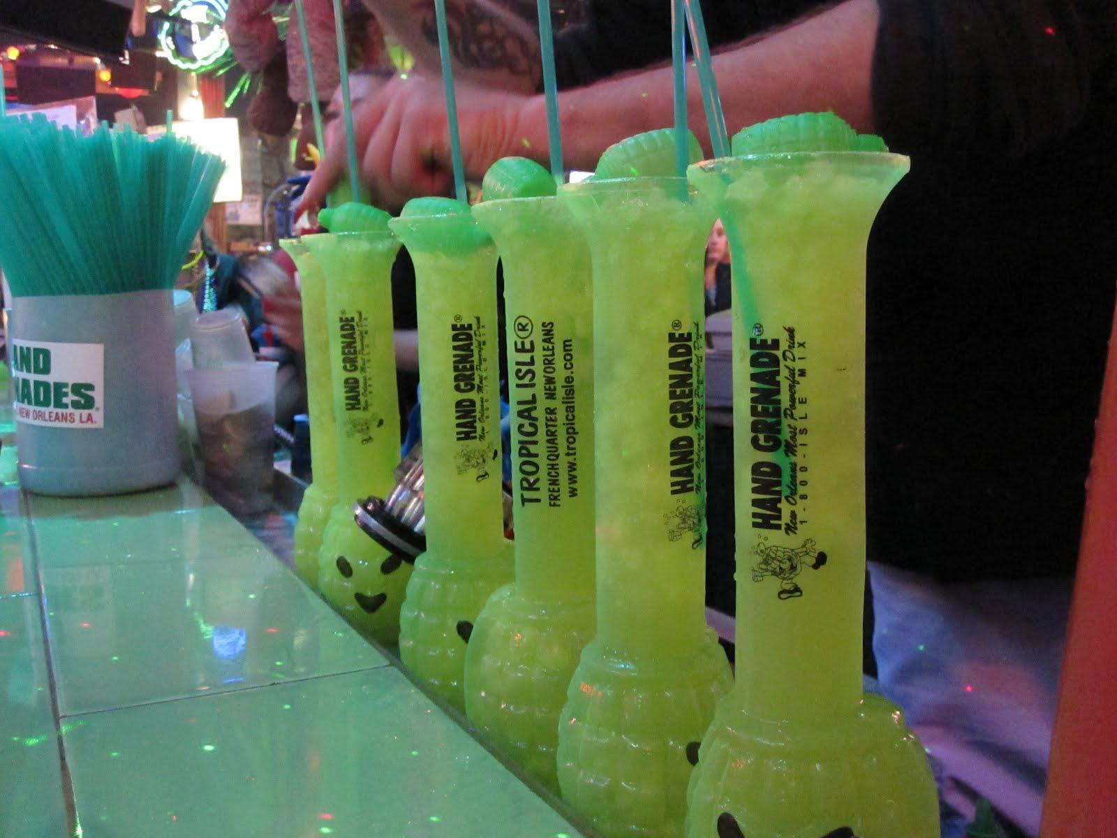 Алкоголь из Нового Орлеана взрывает мозг не хуже гранаты