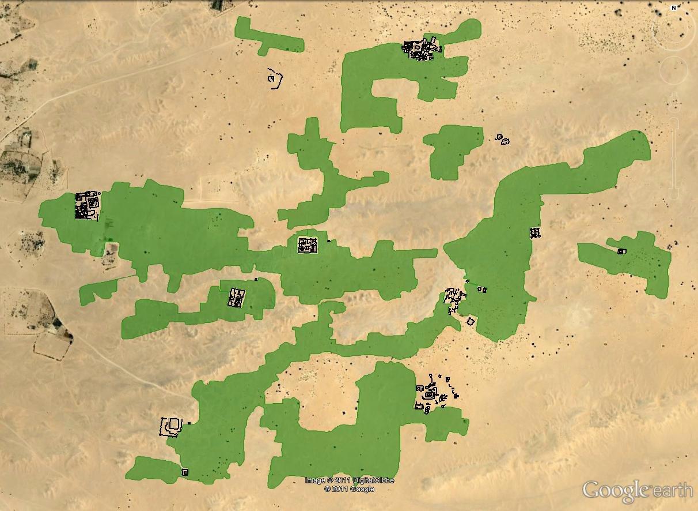 Поселения нашли при помощи снимков со спутника