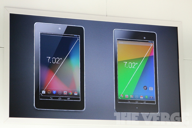 Новый Nexus 7 стало легче держать в ладони