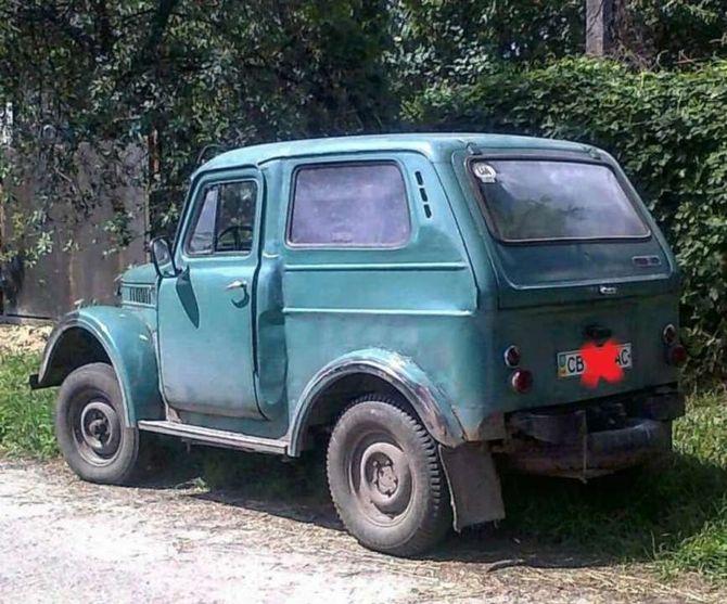 Здесь объединили ГАЗ-69 и ГАЗ-53 с