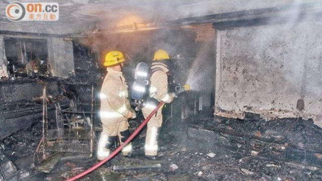 Пожар, вызванный неисправным смарфтоном