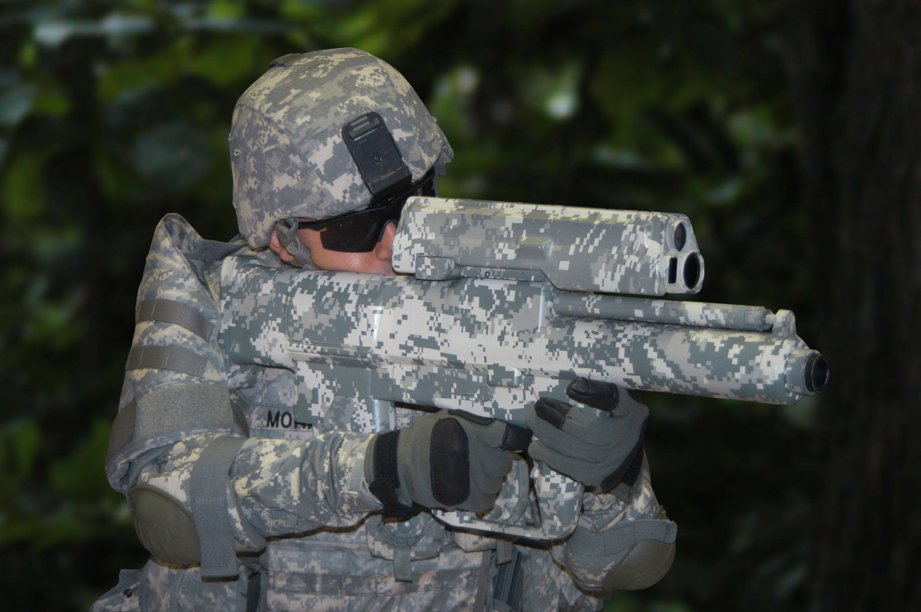 XM25 Counter Defilade Target Engagement System