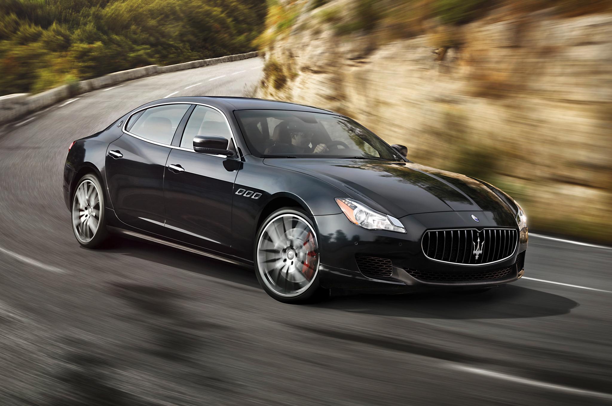 Maserati Quattroporte — спортивные воплощение седана в формате класса «люкс»