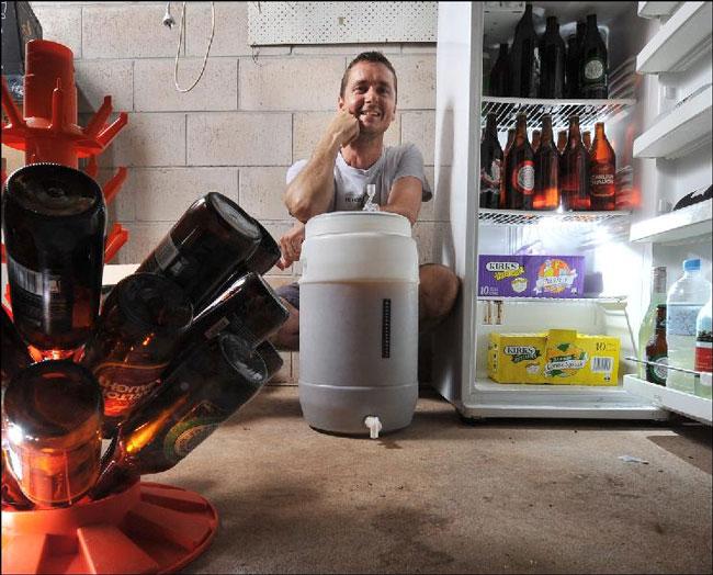 Жаль, что не всегда под рукой есть холодильник для пива