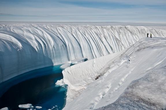 Ледники активно тают
