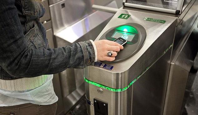 Бесконтактная оплата проезда в метро