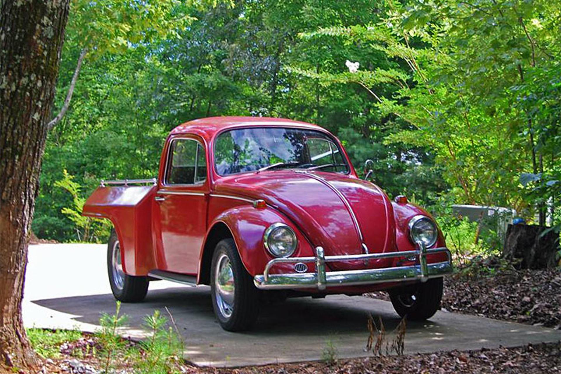 3. VW Beetle Truck
