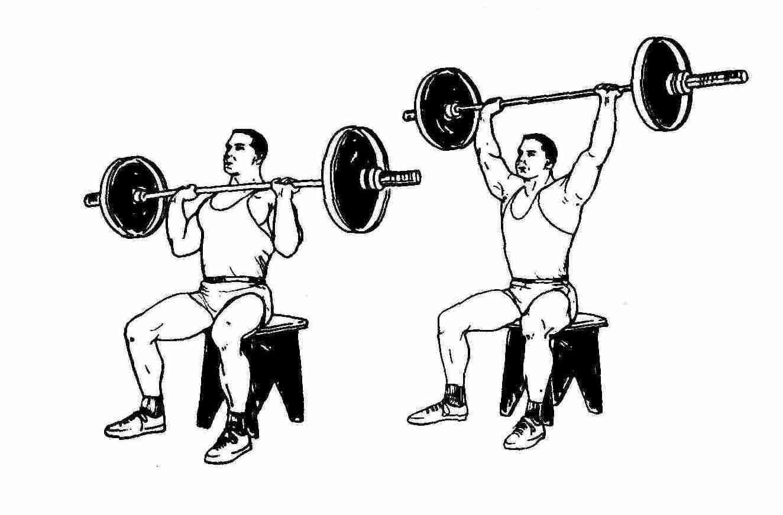 Любое упражнение со штангой выполняй с ровной спиной