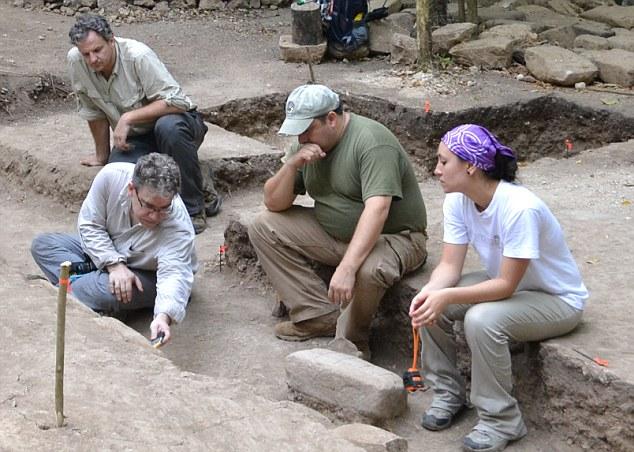 Раскопки проводили в Гватемале