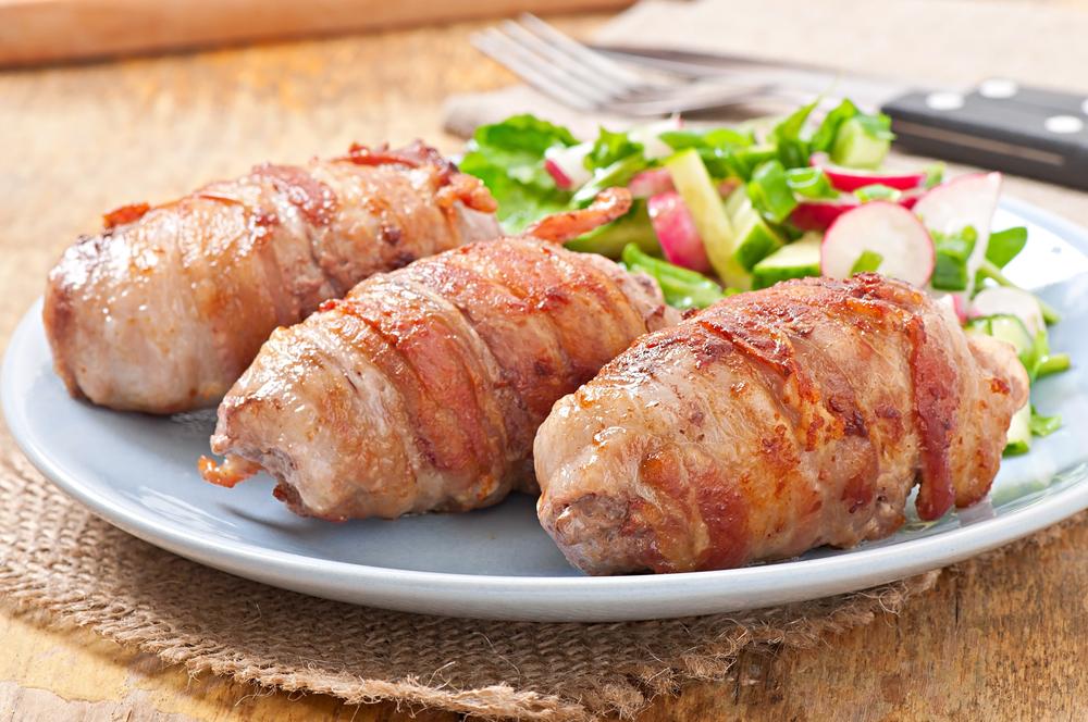 Свиные рулеты с овощами -вкусная альтернатива твоим любимым фастфудам