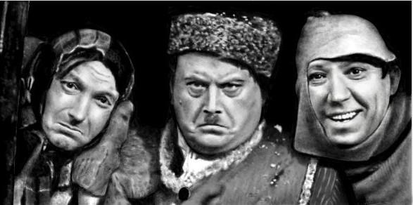 Советская тройка самогонщиков. Классика жанра